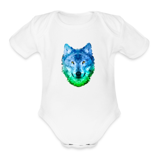 ALPHA - Organic Short Sleeve Baby Bodysuit