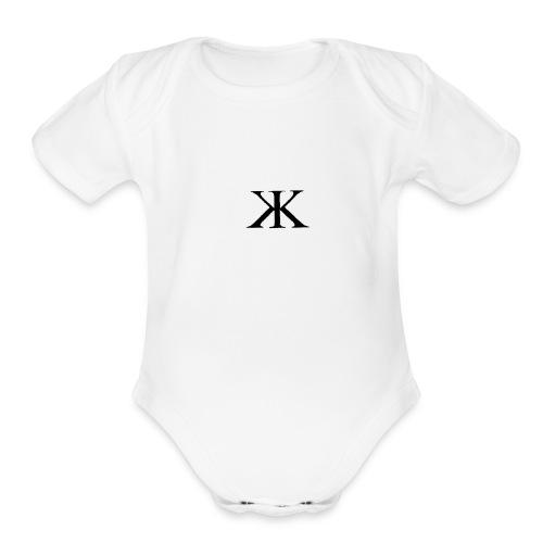 Krixx basic - Organic Short Sleeve Baby Bodysuit