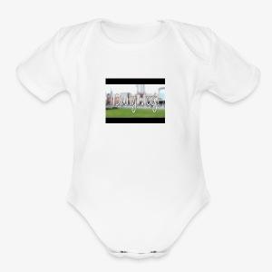 Dailyvlogs let's go - Short Sleeve Baby Bodysuit