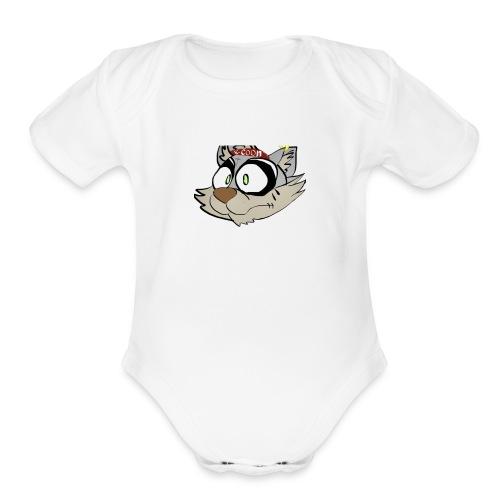 R-Coon - Organic Short Sleeve Baby Bodysuit
