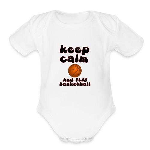 4 - Organic Short Sleeve Baby Bodysuit
