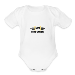Mens' Variety Official Logo - Short Sleeve Baby Bodysuit