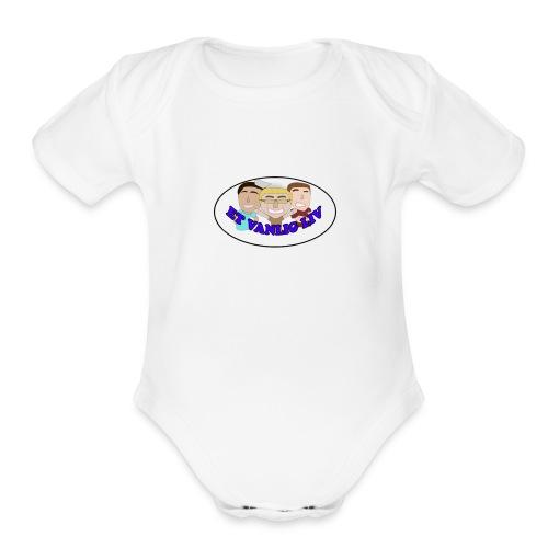 ET VANLIG LIV - Organic Short Sleeve Baby Bodysuit