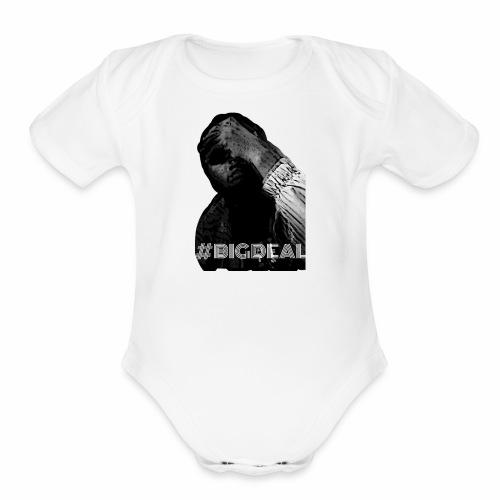 Cartoon #BIGDEAL Series - Organic Short Sleeve Baby Bodysuit