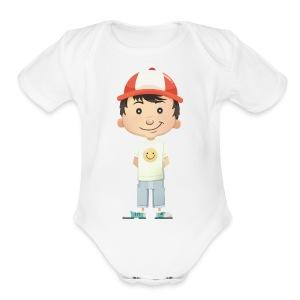 Character - Short Sleeve Baby Bodysuit