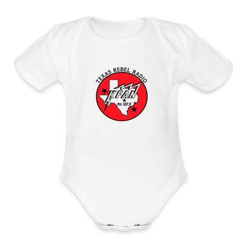 Texas Rebel Radio - Organic Short Sleeve Baby Bodysuit