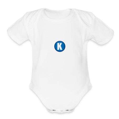 Capa_de_perfil_do_canal - Organic Short Sleeve Baby Bodysuit