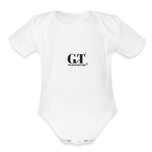 T3 - Organic Short Sleeve Baby Bodysuit