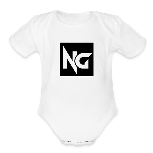 nick guzman merch - Organic Short Sleeve Baby Bodysuit