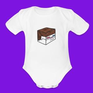 Yakmage Head T-Shirt - Short Sleeve Baby Bodysuit