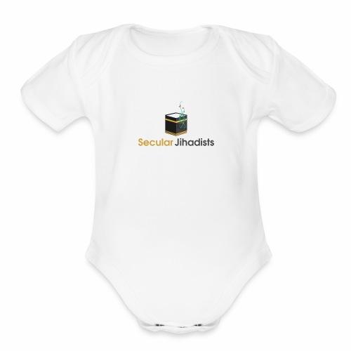 Secular Jihadists - Organic Short Sleeve Baby Bodysuit
