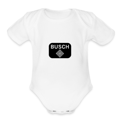Spiral Name - Organic Short Sleeve Baby Bodysuit