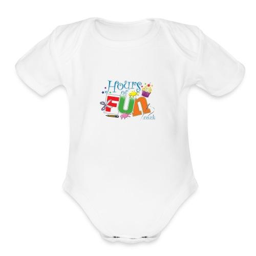 Ruby's merchandise - Organic Short Sleeve Baby Bodysuit