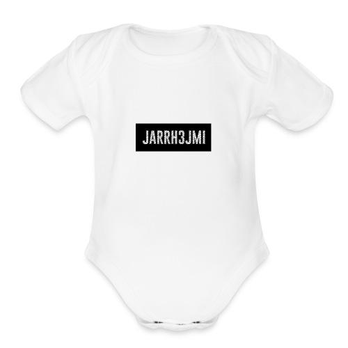 JARRH3JMI Name - For Merch - Organic Short Sleeve Baby Bodysuit