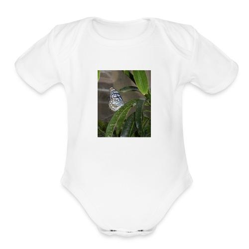 1A9C08E8 3DE4 4114 8697 C8E85C2D18C9 - Organic Short Sleeve Baby Bodysuit