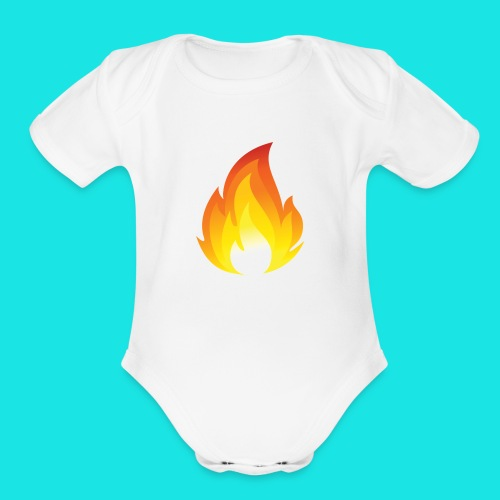Heated Podcast - Organic Short Sleeve Baby Bodysuit