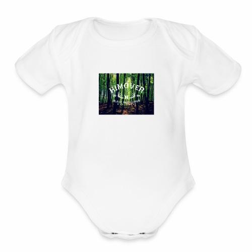 HO10 FORESTER - Organic Short Sleeve Baby Bodysuit