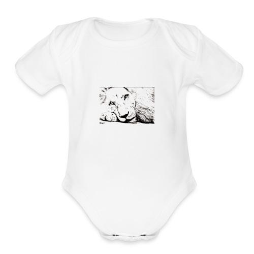 New Doc 9 3 1 - Organic Short Sleeve Baby Bodysuit