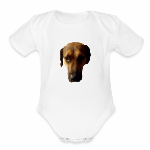Big Dog - Organic Short Sleeve Baby Bodysuit