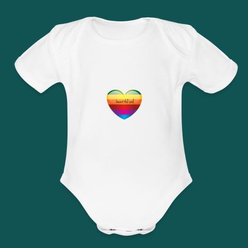 LogoMaker-1483188880915 - Organic Short Sleeve Baby Bodysuit