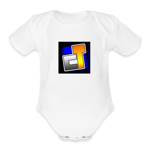 Canal do tiaguinho - Organic Short Sleeve Baby Bodysuit