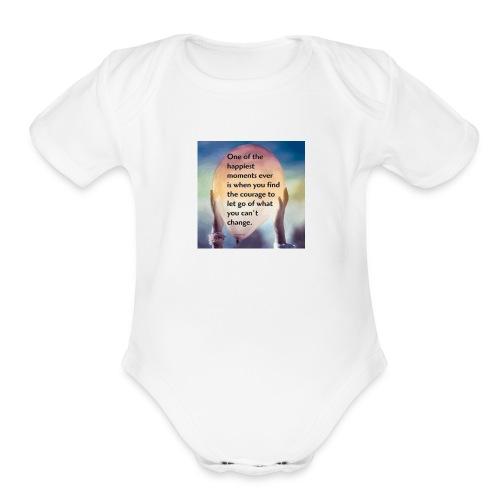 shirt2 - Organic Short Sleeve Baby Bodysuit