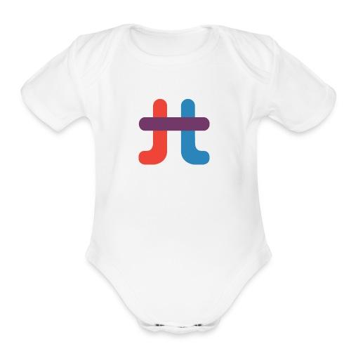 TucuTube Logo - Organic Short Sleeve Baby Bodysuit