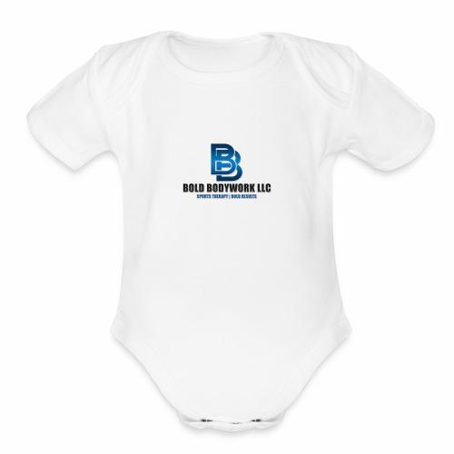 BBwLogoTrans - Organic Short Sleeve Baby Bodysuit