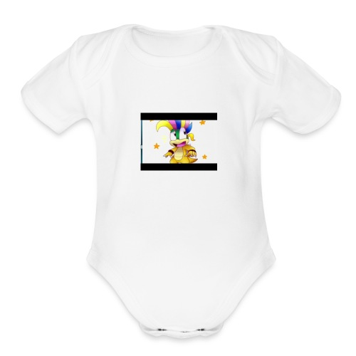 SpiderCreeper To The Rescue - Organic Short Sleeve Baby Bodysuit