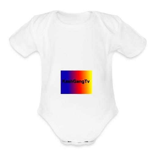 KashSquad - Organic Short Sleeve Baby Bodysuit