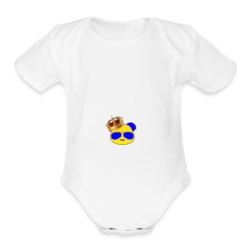 KingPanda - Organic Short Sleeve Baby Bodysuit