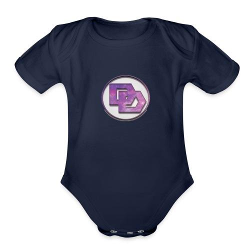 DerpDagg Logo - Organic Short Sleeve Baby Bodysuit