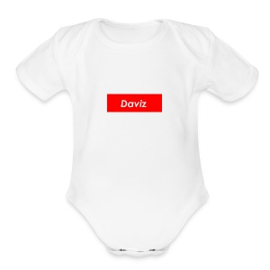 Daviz Merch - Short Sleeve Baby Bodysuit