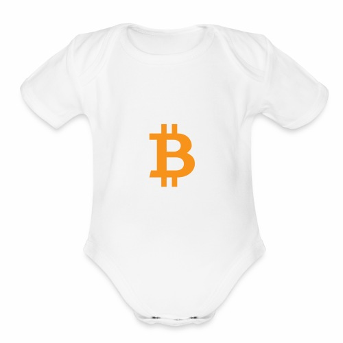 CryptoClothes - Organic Short Sleeve Baby Bodysuit