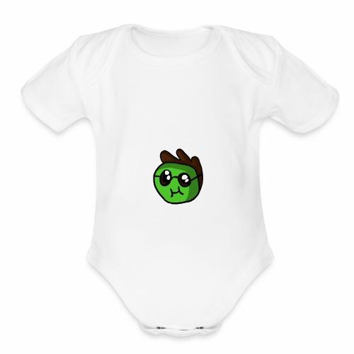 KyroCast - Organic Short Sleeve Baby Bodysuit