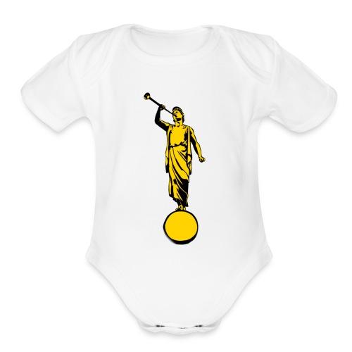 Moroni - Organic Short Sleeve Baby Bodysuit