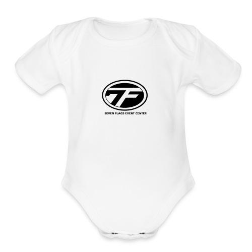 7 Flags - Organic Short Sleeve Baby Bodysuit
