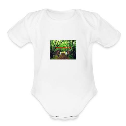 MOOSEMILK to high - Organic Short Sleeve Baby Bodysuit