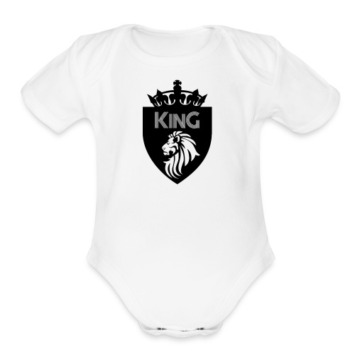 Lion King - Organic Short Sleeve Baby Bodysuit