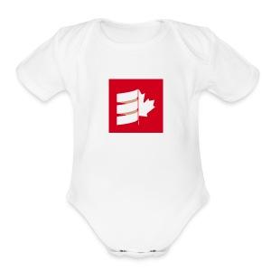 Scala Up North - Short Sleeve Baby Bodysuit