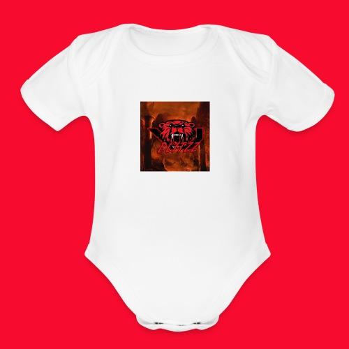 VoiD Blitzz - Organic Short Sleeve Baby Bodysuit