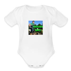 Ridin' Gio - Short Sleeve Baby Bodysuit