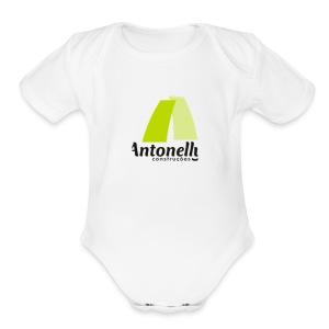 Antonelly logo 400x400 - Short Sleeve Baby Bodysuit