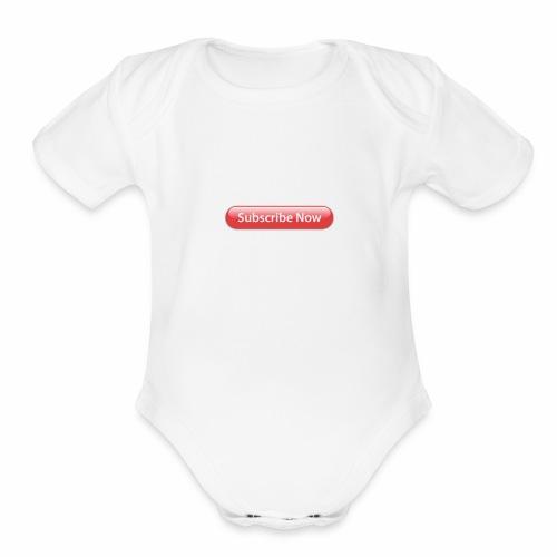 IMG 0237 - Organic Short Sleeve Baby Bodysuit