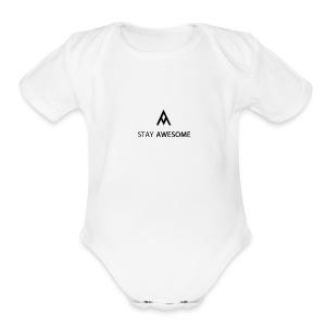 swagger - Short Sleeve Baby Bodysuit