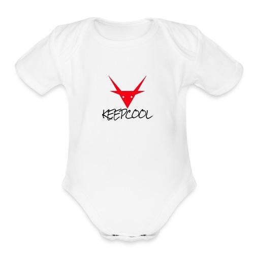 keepcool - Organic Short Sleeve Baby Bodysuit