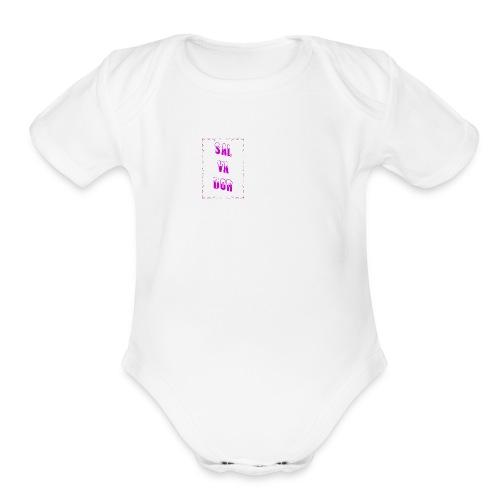 saLVADOR - Organic Short Sleeve Baby Bodysuit