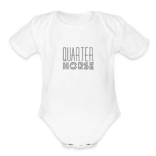 qh logo grey png - Organic Short Sleeve Baby Bodysuit