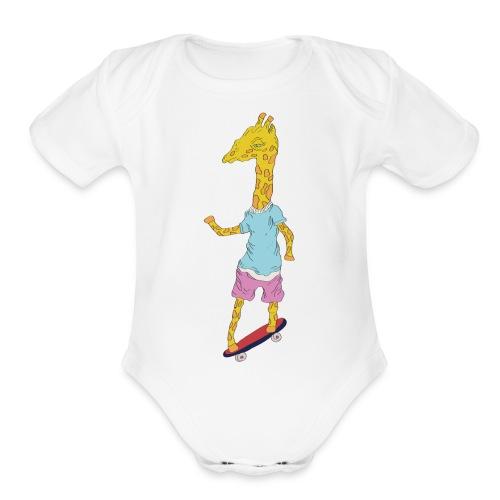 Bumpy.Boi - Organic Short Sleeve Baby Bodysuit