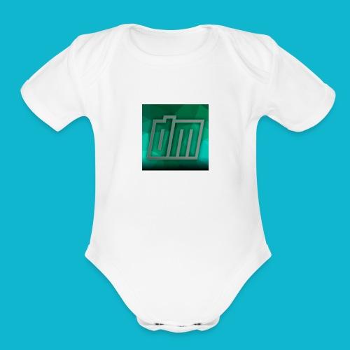 Daymatter merch - Organic Short Sleeve Baby Bodysuit